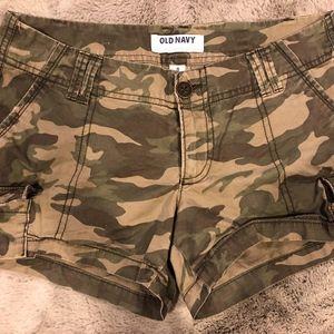 Old Navy Camo shorts